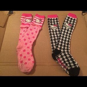 Other - Girls knee high socks 3 pair.